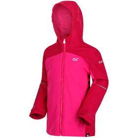 Regatta Hipoint IV Lapset takki , vaaleanpunainen